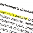 Alzheimer's disease — Stock Photo #23673661