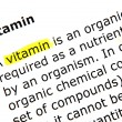 Stock Photo: Vitamin
