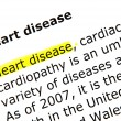 Stock Photo: Heart disease