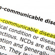 Stock Photo: Disease