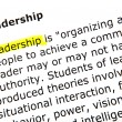 Stock Photo: Leadership
