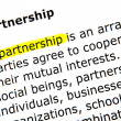 Foto Stock: Partnership