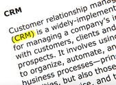 Crm - color image — Stock Photo