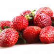 Strawberries on a white background — Stock Photo