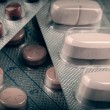 Tablets And Capsules — Stock Photo