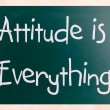 Attitude is Everything — Stock Photo