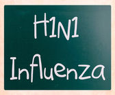 H1N1 Influenza Virus — Stock Photo