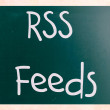 RSS Feeds — Foto de Stock