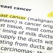 Breast cancer — Stock Photo