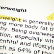 Overweight — Stock Photo