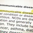 Stock Photo: Non-communicable disease
