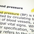 Blood pressure — Stock Photo