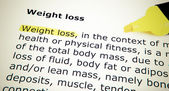 Weight loss — Foto Stock