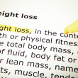 Weight loss — Stock Photo