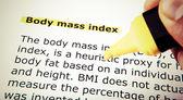 Body Mass Index — Stock Photo