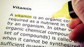 Vitamina — Foto de Stock