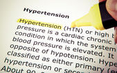 Hypertension — Stock Photo