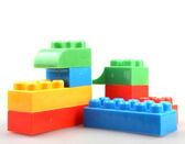 Plastic Building Blocks — Stok fotoğraf