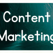 Content marketing — Stock Photo #38293795