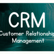 Crm - customer relationship management — Stock Photo #38293817