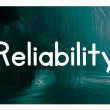Reliability concept — Stock Photo