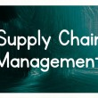 Supply chain management concept — Stock Photo