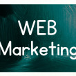 Stock Photo: Web marketing concept