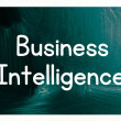 Stock Photo: Business intelligence concept