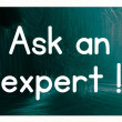 Ask expert concept — Stock Photo #38294081