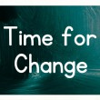 Time for change concept — Foto de stock #38294181