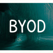 Stock Photo: Byod concept - bring your own device