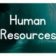 Stock Photo: Human resources concept