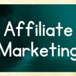 Affiliate marketing concept — Stock Photo #38294673