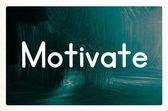 Motivate concept — Foto de Stock