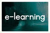 E-öğrenme kavramı — Stok fotoğraf