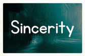 Sincerity concept — Stock Photo