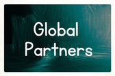 Global partners concept — Stock Photo
