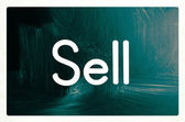 Sell concept — Stock Photo