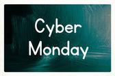 Cyber monday concept — Stock Photo