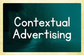 Contextual advertising — Stockfoto