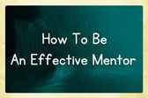 How to be an effective mentor — Stockfoto