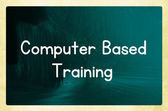 Computer based training — Stock Photo