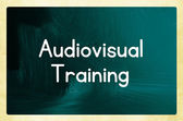 Audiovisual training — Stock Photo
