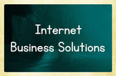 Internet business solutions — Stock fotografie