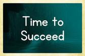 Tiempo para alcanzar el éxito — Foto de Stock