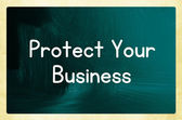 Protect your business — Stock Photo