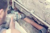 水管工 — 图库照片