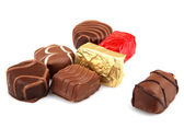 Assorted Fine Chocolates — Stock Photo
