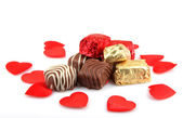 Assorted Fine Chocolates — Stock Photo
