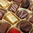 Stock Photo: Delicious Chocolate Pralines
